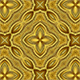 Fractal Gold Kaleidoscopic Background - VideoHive Item for Sale