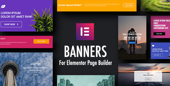 Banners for Elementor Page Builder - CodeCanyon Item for Sale