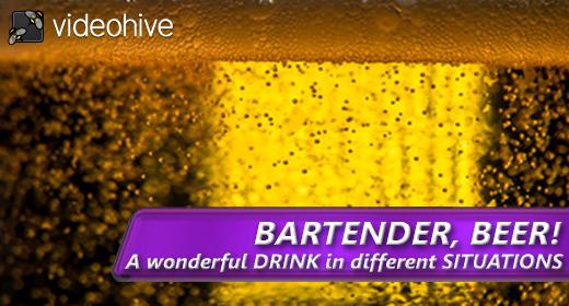 Bartender, BEER!