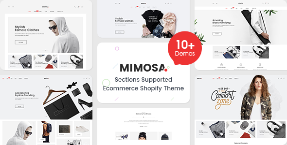Image of Mimosa - Responsive Clothing, Kids, Bags, Cosmetics, Electronics, Furniture, Fashion Shopify Theme