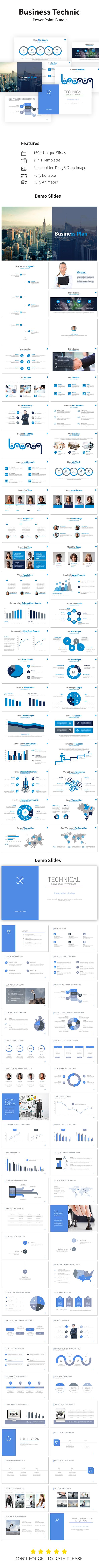Business Technic Bundle PowerPoint Presentation Templates - Business PowerPoint Templates