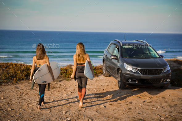 Let's surf - Stock Photo - Images
