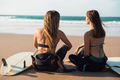 Surfer girls at the beach - PhotoDune Item for Sale