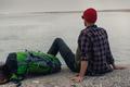 Man Traveling Backpack - PhotoDune Item for Sale