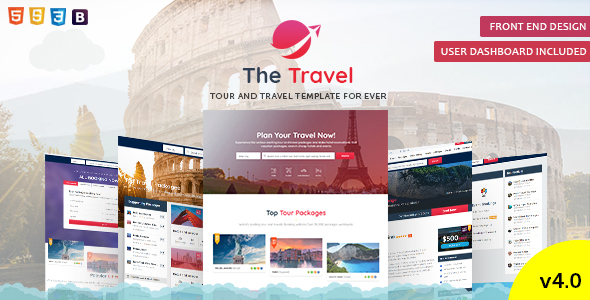 Tour Travel | Tour Travel Package Template