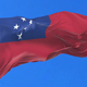 Flag of Samoa Waving - VideoHive Item for Sale