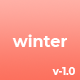 Winter | Portfolio One Page HTML Template - ThemeForest Item for Sale
