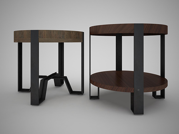 Marley End Table - 3DOcean Item for Sale