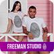 T-Shirt Mock-Up 2018 #9 - GraphicRiver Item for Sale