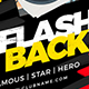 Flashback Party Facebook Cover - GraphicRiver Item for Sale