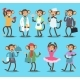 Monkey Like People Nature Vector Animals - GraphicRiver Item for Sale