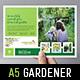 Gardener Flyer Template - GraphicRiver Item for Sale