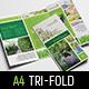 Gardener Tri-Fold Brochure Template - GraphicRiver Item for Sale