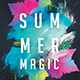 Summer Magic Party Flyer - GraphicRiver Item for Sale