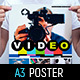 Videographer Poster Template - GraphicRiver Item for Sale