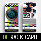 Videographer Rack Card Template - GraphicRiver Item for Sale