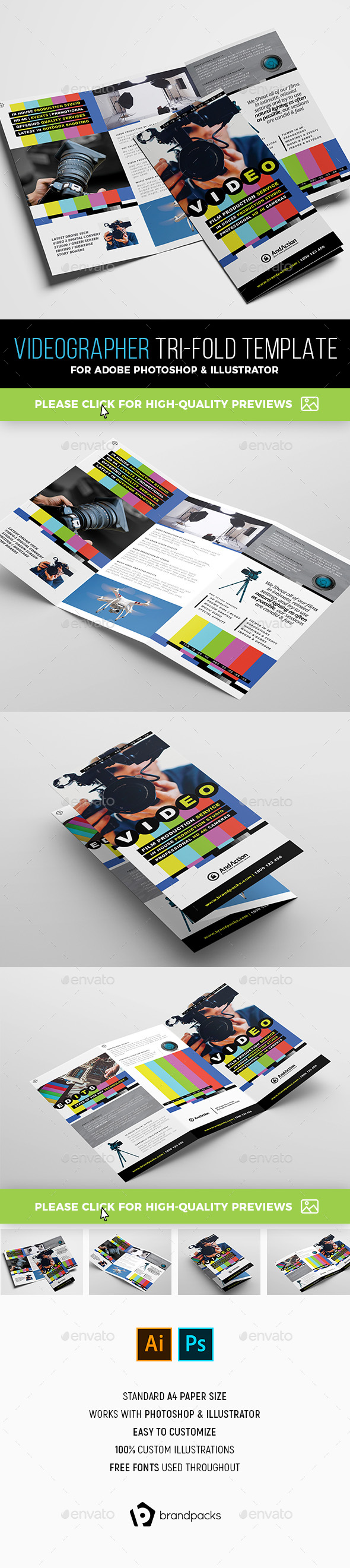 Brochure Templates From GraphicRiver - Template brochure