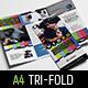 Videographer Tri-Fold Brochure Template - GraphicRiver Item for Sale