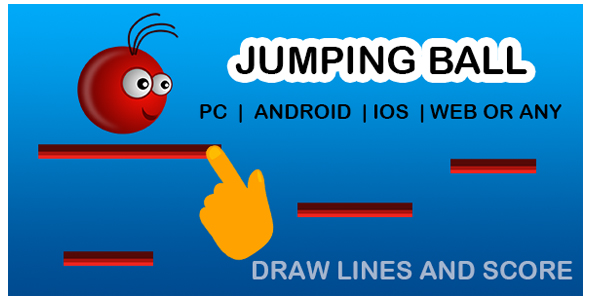 Jumping Ball Game - CodeCanyon Item for Sale