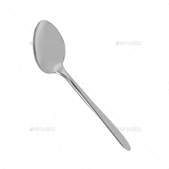 spoon isolated - Stock Photo - Images
