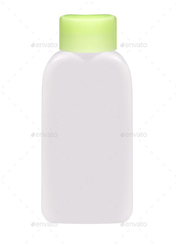 Plastic bottle isolated on white - Stock Photo - Images