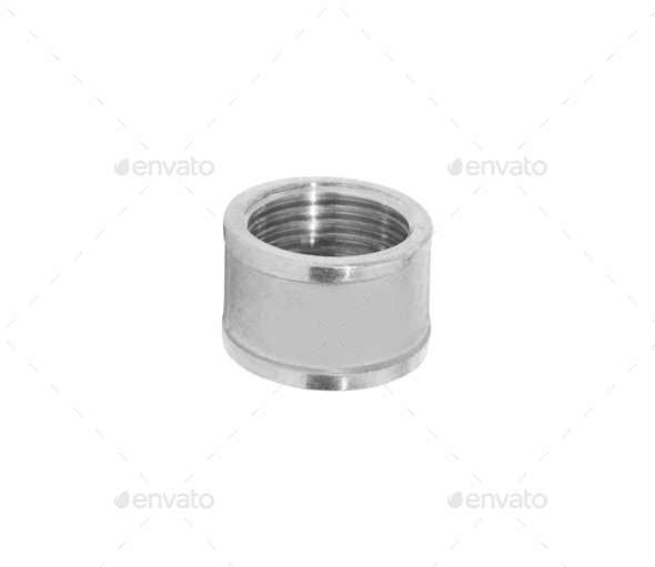 female screw isolated - Stock Photo - Images