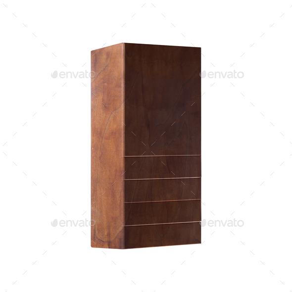 wardrobe Isolated on White background - Stock Photo - Images
