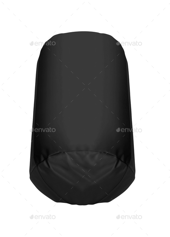 black Punching bag isolated - Stock Photo - Images
