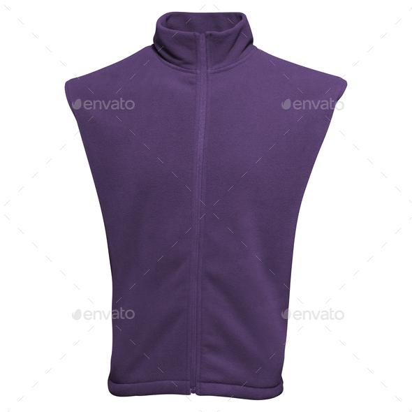 vest isolated on white background - Stock Photo - Images