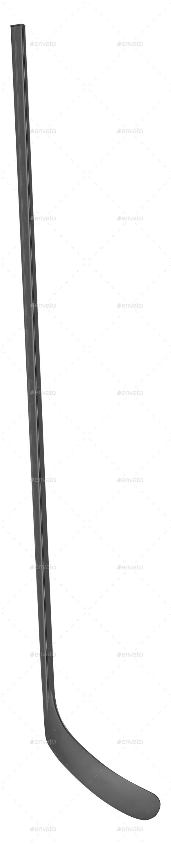 Ice hockey stick isolated on white background - Stock Photo - Images