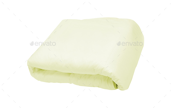 blanket, Soft warm blanket on the background - Stock Photo - Images