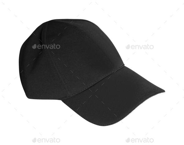 Baseball hat Isolated on a white background - Stock Photo - Images