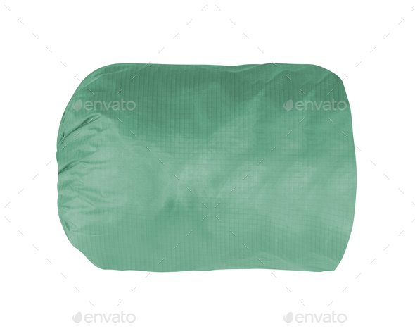 green backpack isolated - Stock Photo - Images