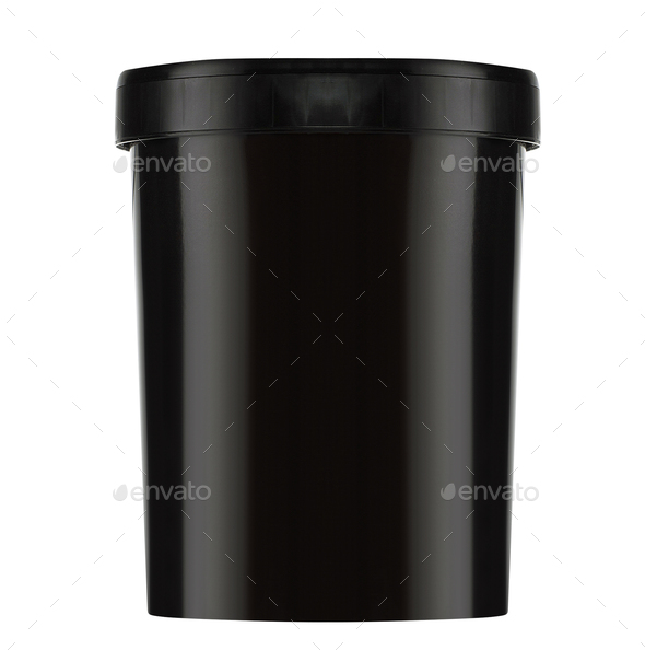 Paint Plastic Bucket Container - Stock Photo - Images