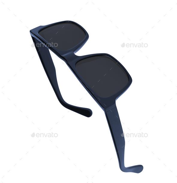 sunglasses isolated on white background - Stock Photo - Images