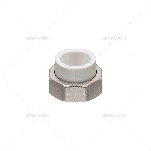 female screw isolated - Stock Photo - Images