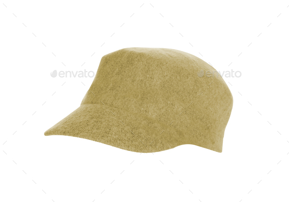 Hat Isolated on White Background - Stock Photo - Images
