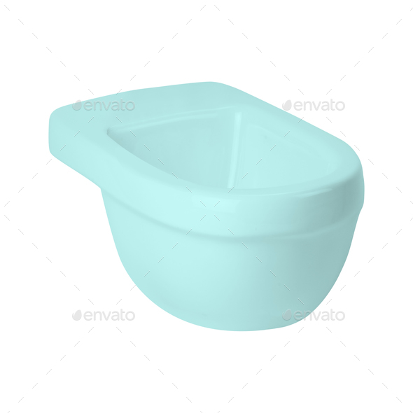 Toilet training potty used by small children - Stock Photo - Images