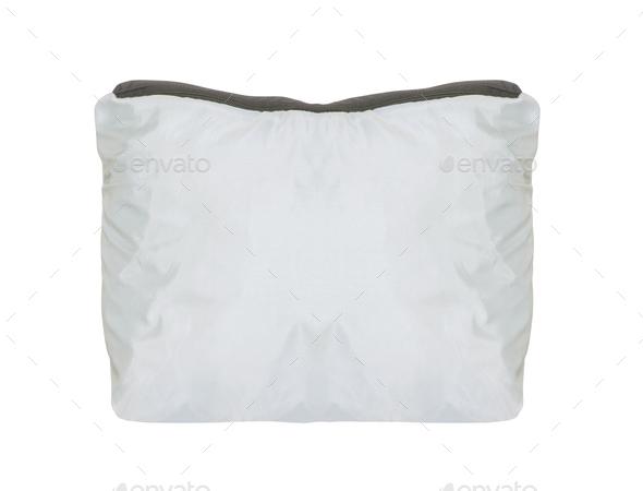 White female handbag isolated on white - Stock Photo - Images