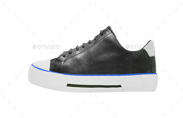 sneakers isolated on white background - Stock Photo - Images