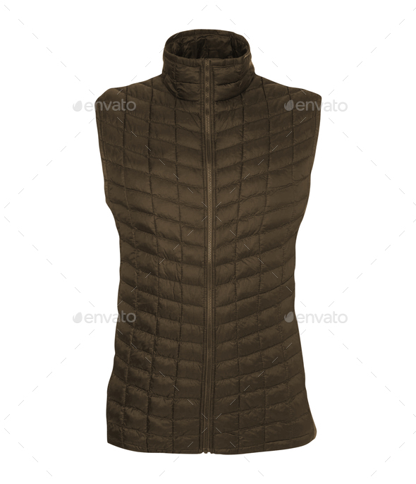 Bodywarmer isolated on white - Stock Photo - Images