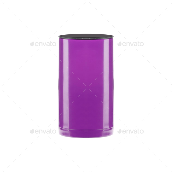 plastic cup on white background - Stock Photo - Images