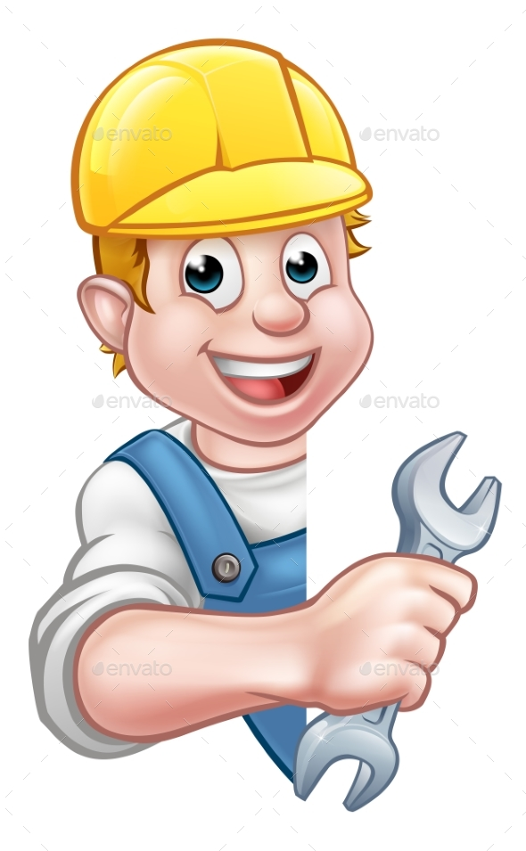 Cartoon Character Plumber - People Characters