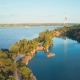 Flight Over River and Coast - VideoHive Item for Sale