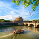 Boat on the tiber - PhotoDune Item for Sale