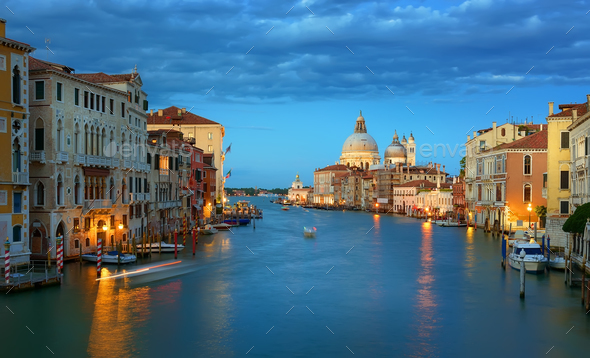Calm morning in Venice - Stock Photo - Images