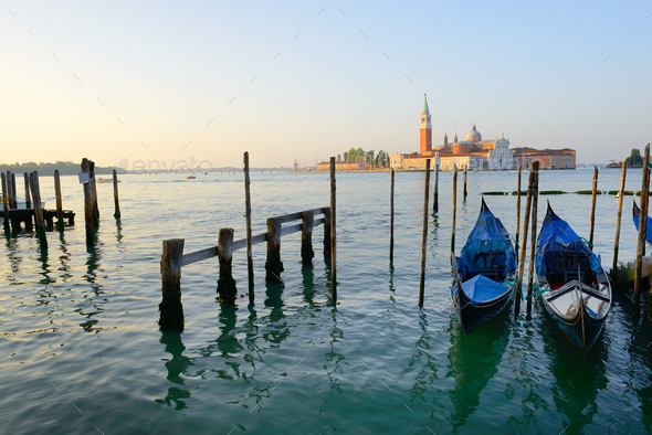 Grand Canal in Italy - Stock Photo - Images