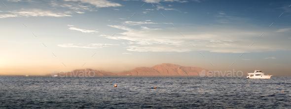 Island Tiran Egypt - Stock Photo - Images