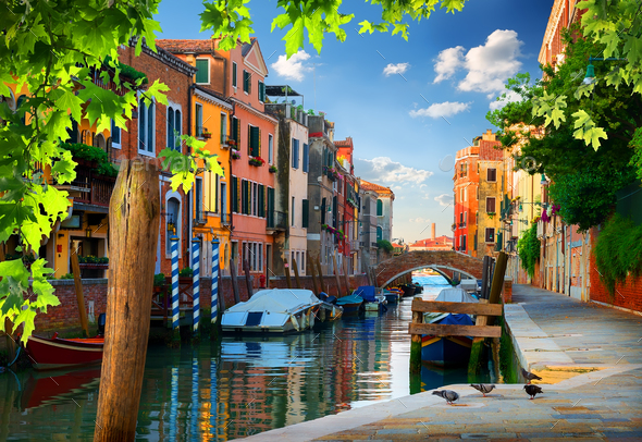 Morning in Venice - Stock Photo - Images