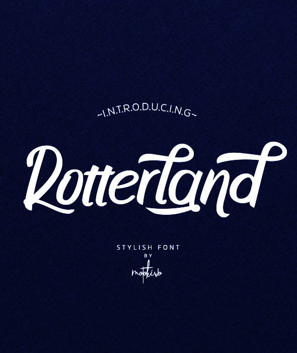 Rotterland - Decorative Fonts